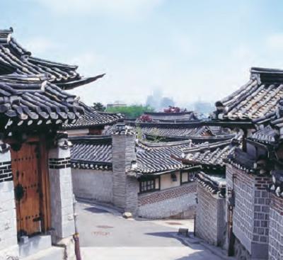 Hanok-Dörfer