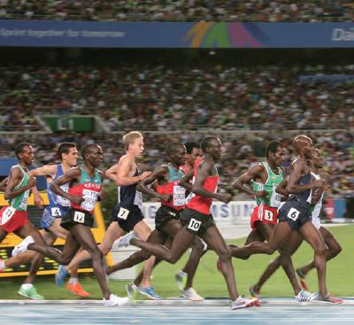 2011: Leichtathletik-Weltmeisterschaft