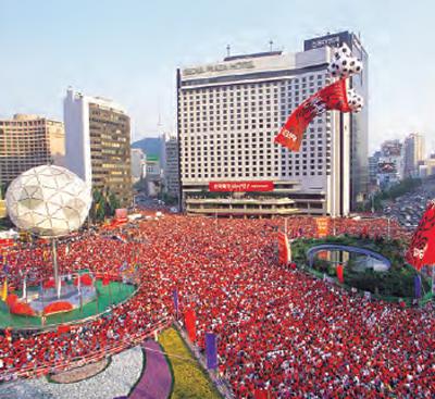 2002: FIFA-Fußballweltmeisterschaft Korea/Japan