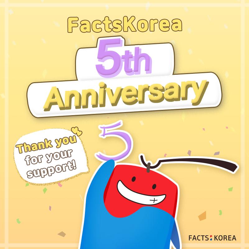 FactsKorea 5th Anniversary